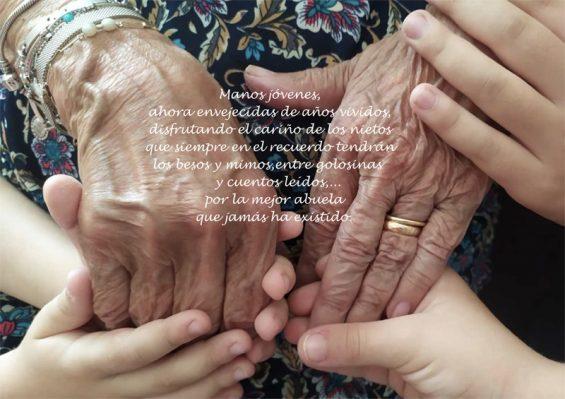 abuelos tarjeta jamas te olvidaremos